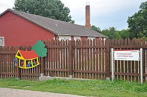 Das Luise-Scheppler-Haus in der Außenansicht.